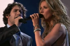 "Celine Dion And Josh Groban Sing ""The Prayer"""