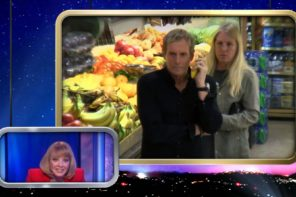 Michael Bolton Serenades Fruit In A Grocery Store