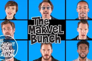 "The Avengers Do A Parody Of The Brady Bunch Called ""The Marvel Bunch"""