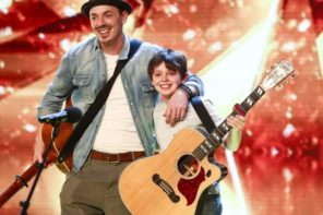 Father And Son Get The Golden Buzzer