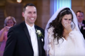 This Bride Thought Her Wedding Dance Was Ruined When Her Favorite Country SInger Took The Stage