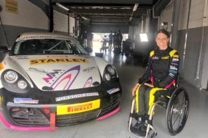 This Race Car Driver Doesn't Let Being A Tetraplegic Slow Her Down