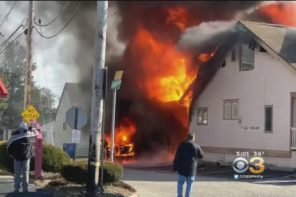 Good Samaritan Puts Life On Line To Go Into Burning Building