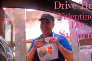 Valentines Day Drive Thru Surprise