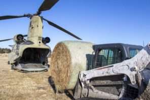 Operation Hay Drop: Relief To Nebraska Ranchers
