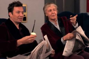 Paul McCartney and Jimmy Fallon Surprise Fans In Elevator