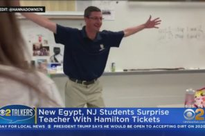 Students Pitch In To Get Hamilton Tickets On Broadway For Their Teacher