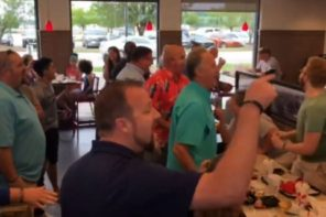 Acapella Group Bursts Into Song At Chick-Fil-A