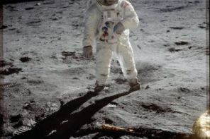 Neil Armstrong's Historic Step On The Moon