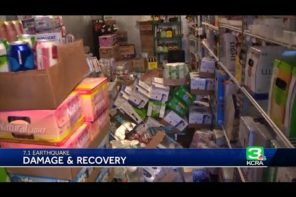 Samaritans Help Store Owner After Earthquake