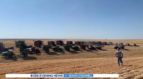 60 Farmers Harvest Crops For Neighbor Battling Cancer