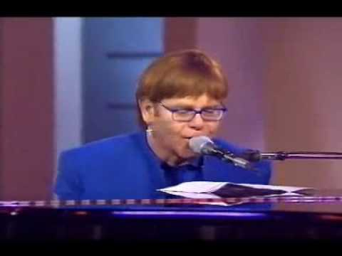 Elton John Does Improv Cooking Oven Song