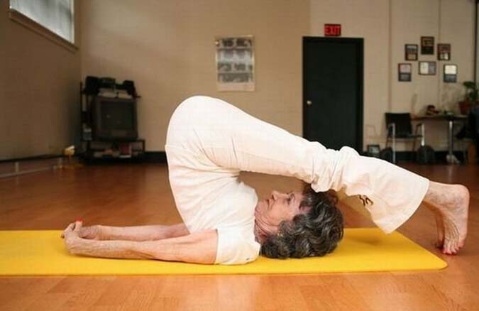 Meet The Oldest Yoga Instructor In The World
