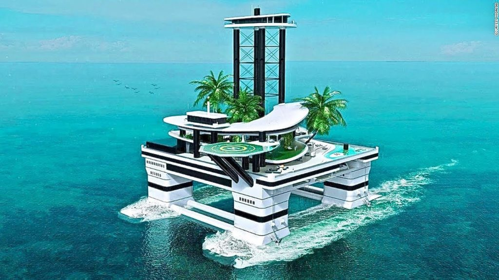 Your Own Personal Mobile Private Island