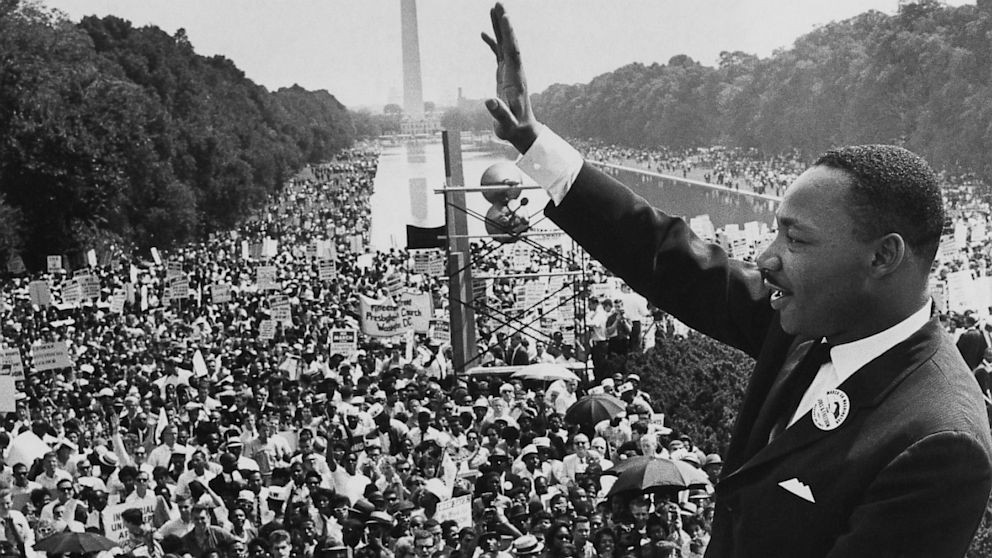 "Martin Luther King's Speech ""I Have A Dream"""