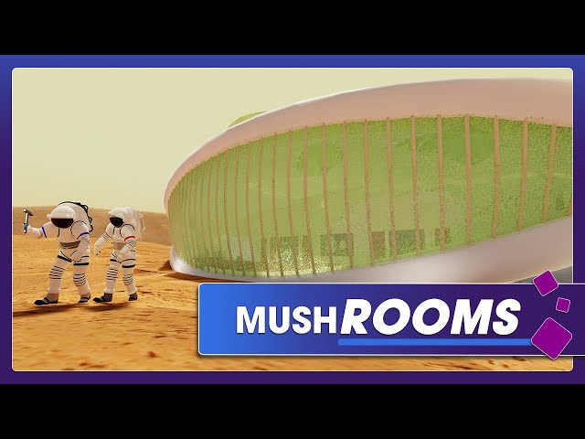 Space Habitats Made of Fungus