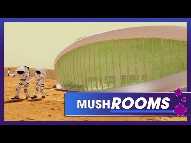 Space Habitats Made of Fungus
