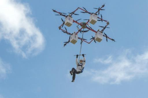 Amazing Rescue Drone