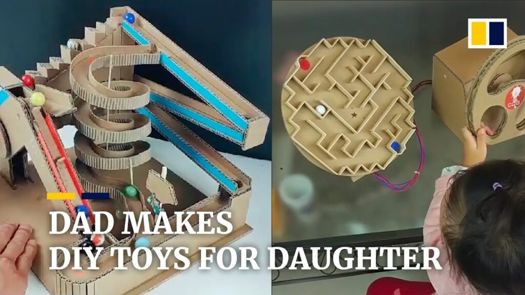 This Father Makes Amazing Games For His Kids