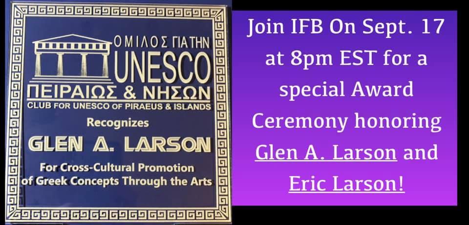 Award Ceremony Honoring Glen A Larson and Glen Eric Larson Today on the Anniversary of Battlestar Galactica